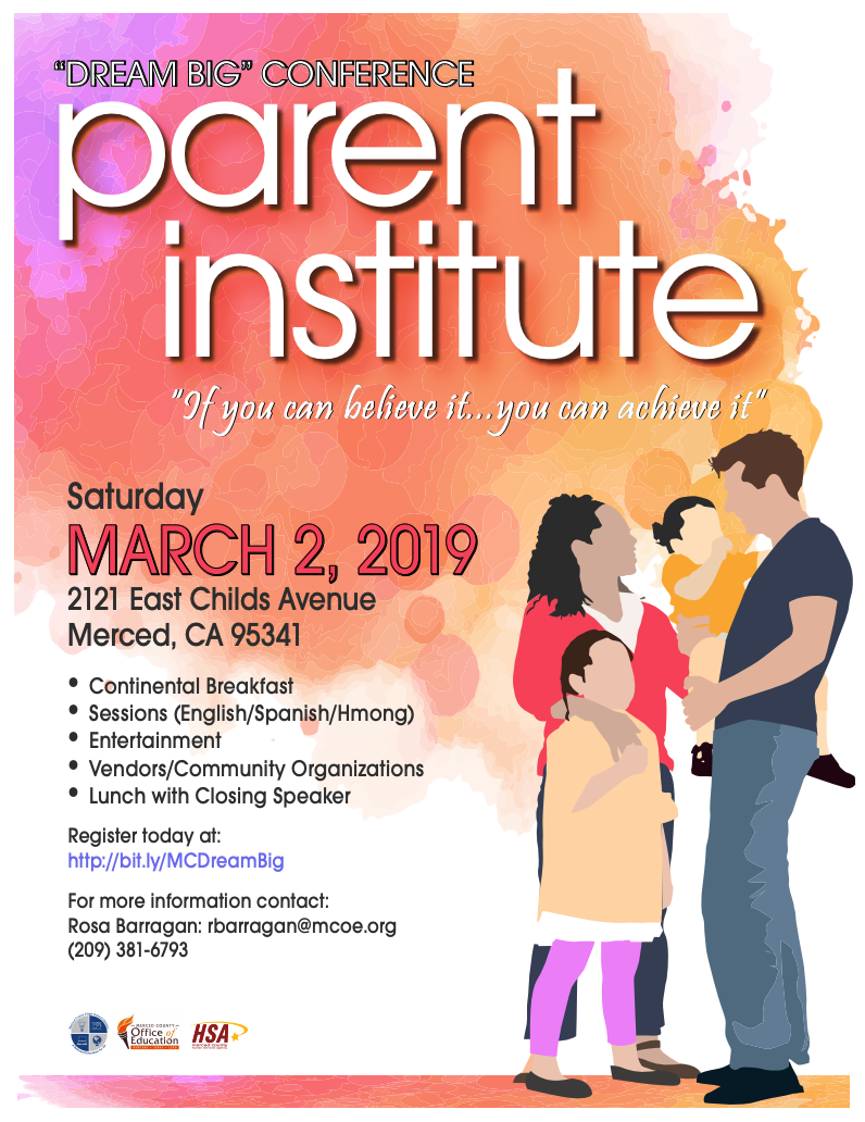Flyer: Parent Institute